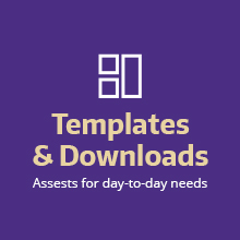 Download 25 year templates and downloads for day-to-day use