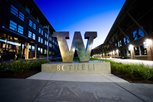 The W on UW Bothell campus