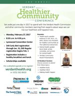 Verdant Healthier Community Conference Flyer