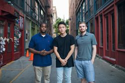 photo of troy osaki, aaron middleton, and quinn brown