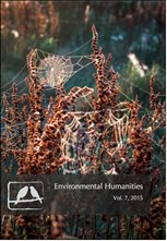 Environmental Humanities cover