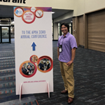 Dr. Niitsu at the APNA national conference