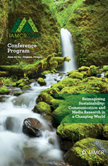 IAMCR poster with waterfall