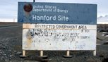 sign from Hanford site