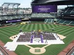Safeco Field as it would look at graduation