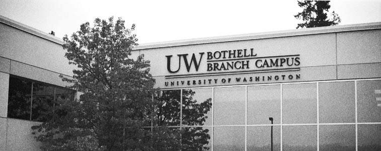 Image of original UW Bothell Campus