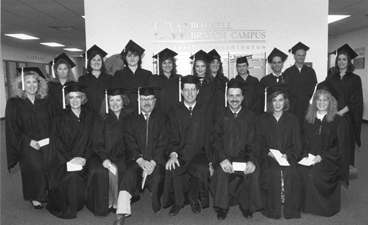 image of old graduating class