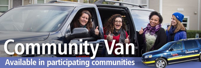 Commuter Van available in participating communities