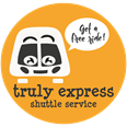 Truly express shuttle service logo