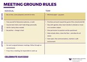 Ground Rules Example