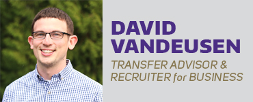 David VanDeusen - Transfer Advisor and Recruiter