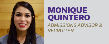 Monique Quintero - Admissions Advisor & Recruiter