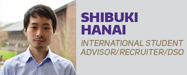 Shikuki Hanai - International Student Advisor/Recuiter/DSO