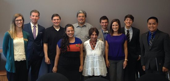 ASUWB meeting with 1st District Legislators (August, 2014)