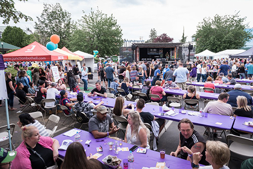 Image of Bothell block party