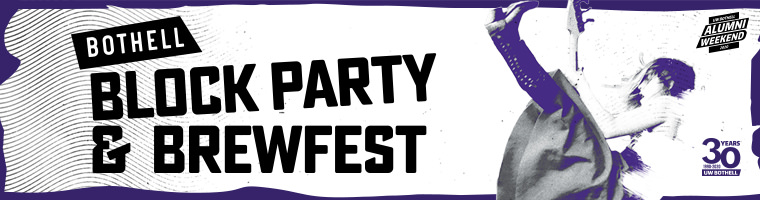 Bothell Block Party and Brewfest event banner