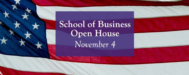BA in Business Open House