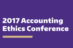 2017 Accounting Ethics Conference