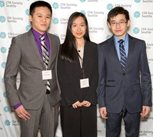 The team of Hongzi Jin, Andy Liang and Linda Lin