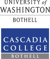 UW Bothell and Cascadia Logos