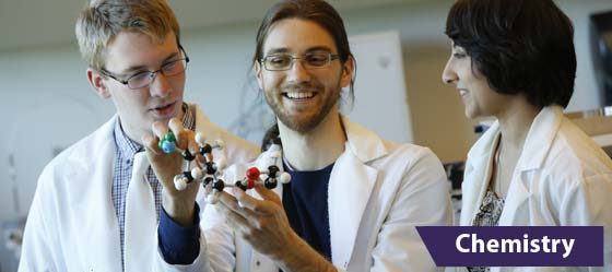 UWB chemistry students