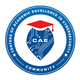 Centers for Academic Excellence in Cybersecurity Community blue and red circle logo