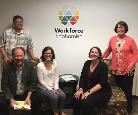 group photo at workforce snohomish
