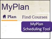 My Plan scheduling tool button