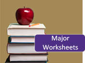 major work sheets