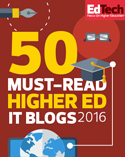 50 Must Read Higher Ed IT Blogs 2016
