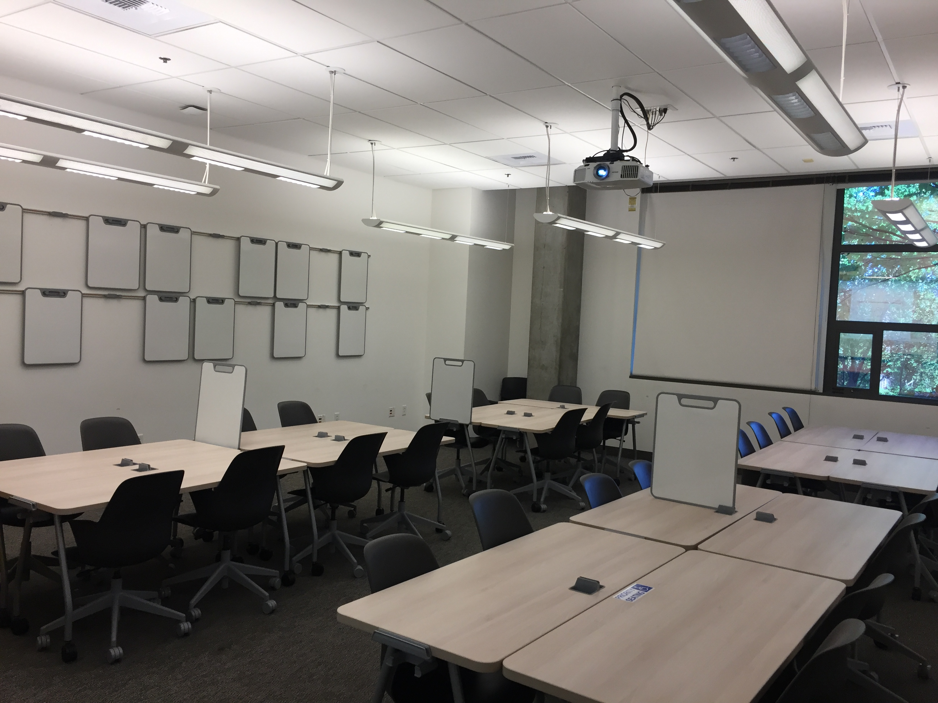 UW Bothell Founders Hall, Room 060, default configuration