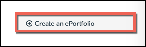 Create a new eportfolio button