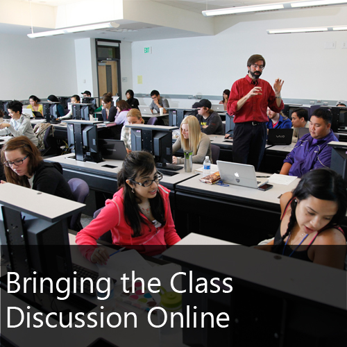 UWB Videos Bringing the Class Discussion Online