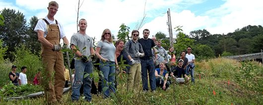 students in the field from BIS 397 course