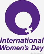 International Women's Day is March 8.
