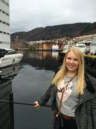Kelsey Bolinger in Norway