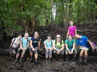 A group of UW students in Ecuador