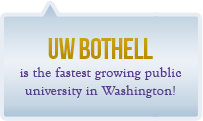 UW Bothell is the fastest growing public university in Washington