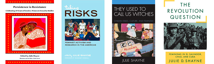 covers of Julie Shayne's books