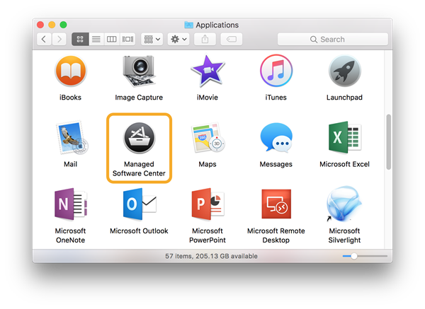 Mac Applications folder