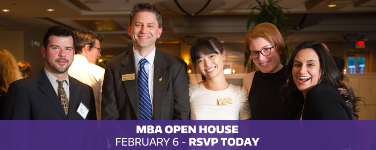 Click here to register for the MBA Open House that will be held on February 6, 2019.