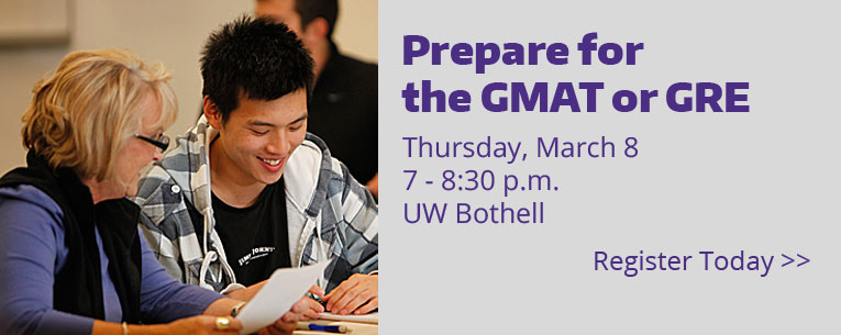 Register for the GMAT/GRE Strategy Session on March 8