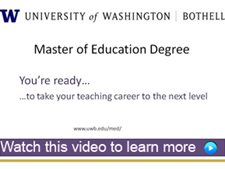 Link to informational video about UW Bothell M.Ed. program