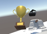 screen shot of trophy in ultra-reality