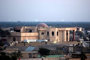 former palace of Saddam Hussein