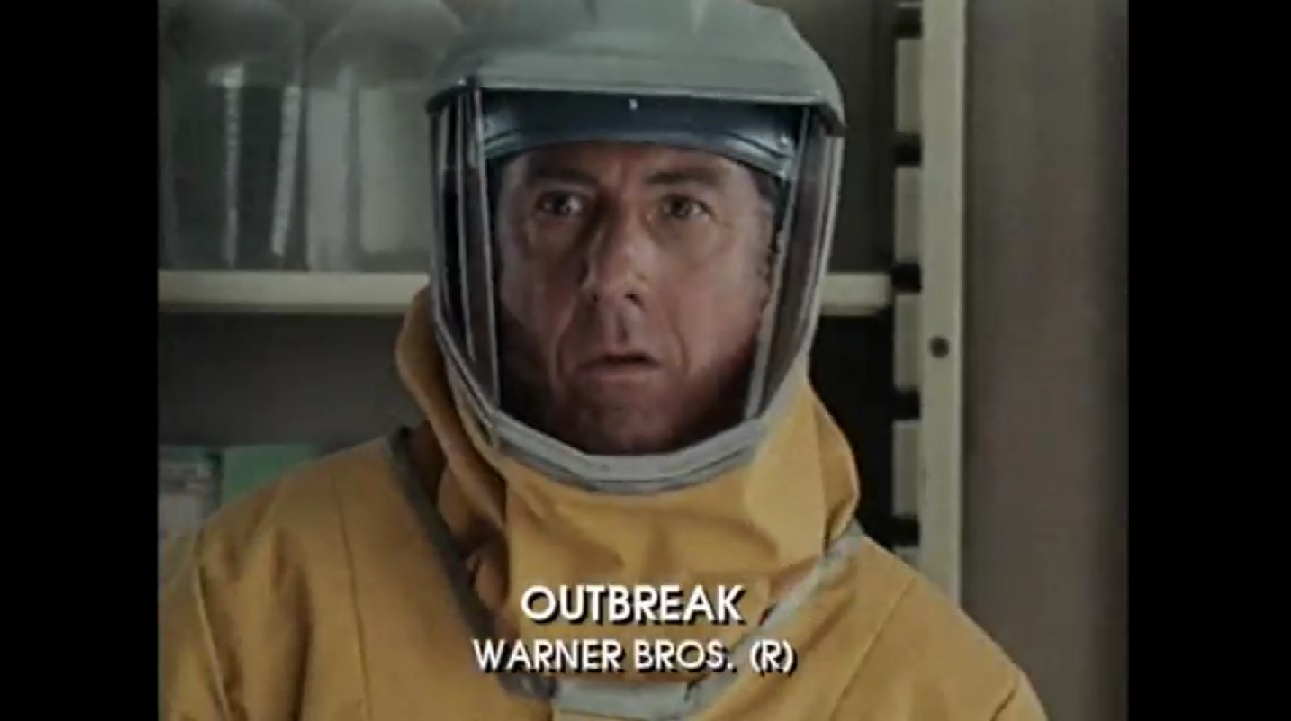 "Dustin Hoffman in ""Outbreak"""