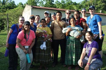 Group in Guatemala