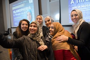 Dalia Mogahed and friends
