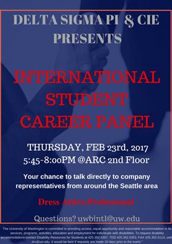job search even tougher for international students 2017 vinnakota has arranged the international student career panel from 5 45 p m 8 p m thursday feb 23 on the second floor of the activities and
