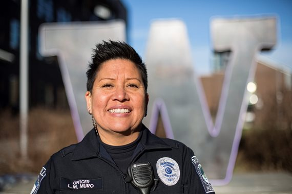 Bothell Police Officer Louise Muro
